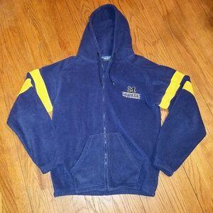 University Of Michigan Wolverines Full Zip Hoodie